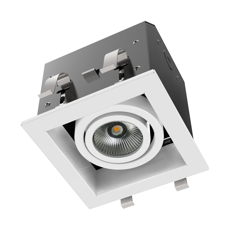 DG4001A LED吸顶式格栅灯、吸顶式格栅灯盘、小格栅灯