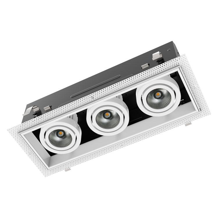 DG4003A LED三管格栅灯、防爆格栅灯、照明格栅灯