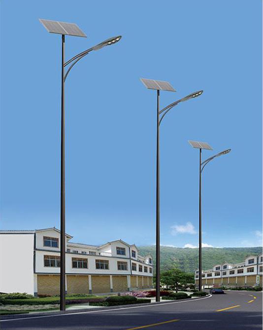 DG-A1203 LED太阳能led照明路灯、8瓦太阳能路灯、太阳能庭院路灯厂