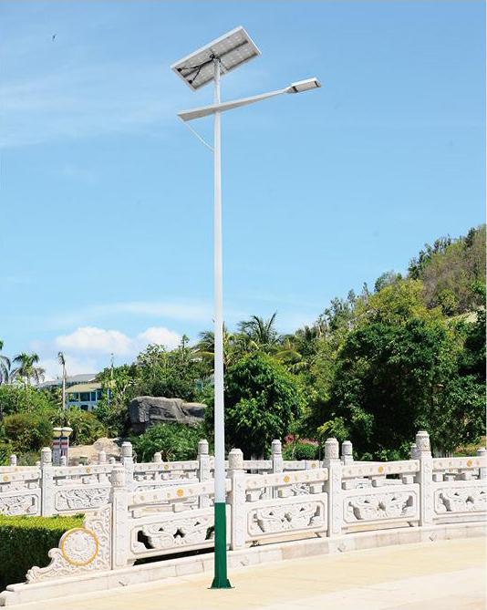 DG-A1302 LED4米太阳能路灯、大功率太阳能路灯、整套太阳能路灯