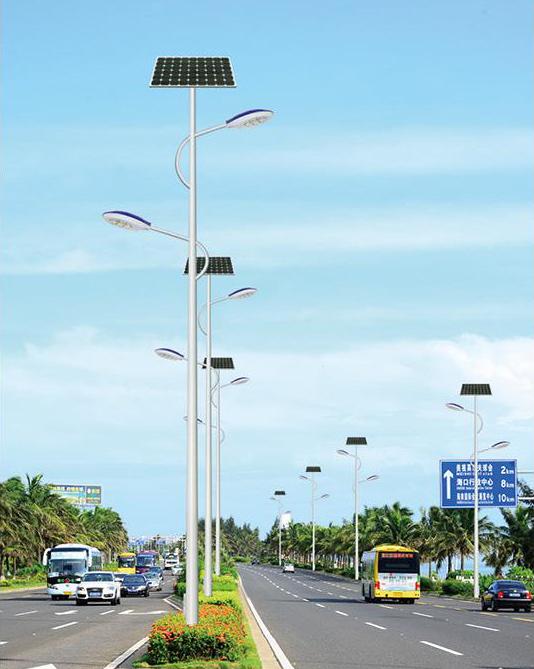 DG-A1902 LED9米太阳能路灯、太阳能路灯批发厂家、太阳能路灯品牌