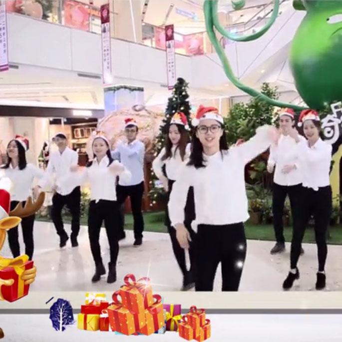 2016茵坦斯创意圣诞祝贺片